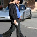 Anthony kiedis heather christie pregnant everly bear son car