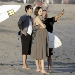 Anthony kiedis heather christie pregnant everly bear son surfboard
