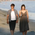 Anthony kiedis heather christie pregnant everly bear son beach stroll