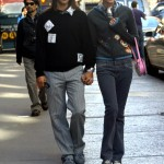CELEBRITIES OUT AND ABOUT NY