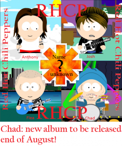 new red hot chili peppers album anthony kiedis last week august 2011