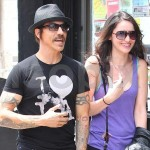 anthony kiedis beanie hat black smiling msytery new love