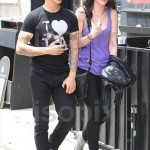 anthony kiedis walking black