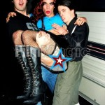 Dave Grohl Anthony Kiedis Krist Novoselic Red Hot Chili Peppers drag lift