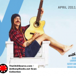 anthony kiedis guitar beach lifeguard delta airline Los Angeles feature