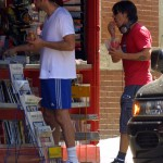 GUY OSEARY AND ANTHONY KIEDIS IN NY