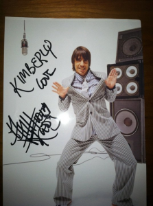 love anthony kiedis signed