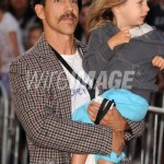 anthony kiedis carrying so Everly Bear