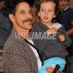 anthony Kiedis cuddling son everly bear