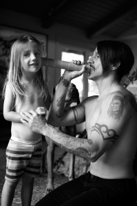 anthony kiedis everly bear toy telescope