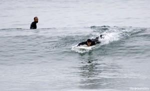 anthony kiedis RHCP Pacific ocean Malibu 2011