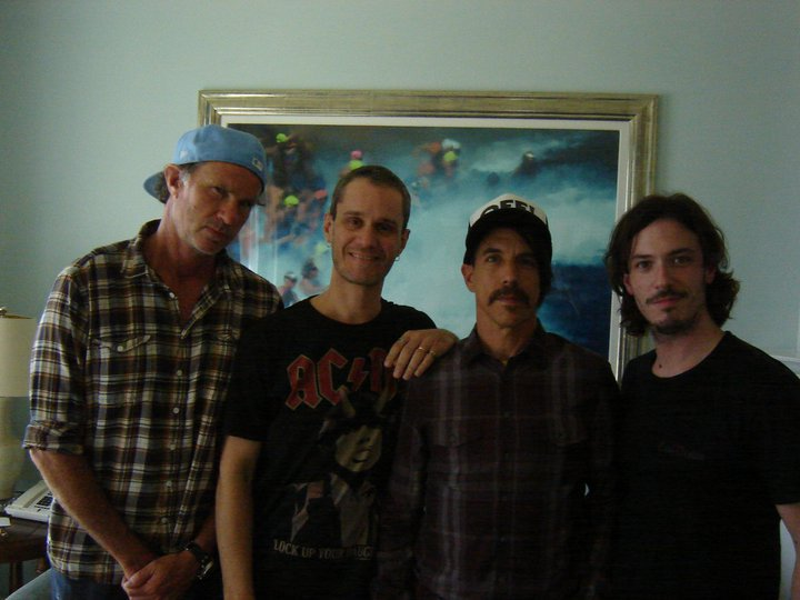 red hot chili peppers new album I'm with you