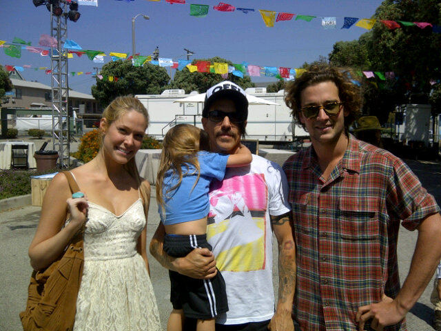 June 7th fan photo Everly Bear Anthony Kiedis new hair cut