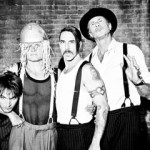 RHCP Anthony Kiedis with braces Josh Klinghoffer Flea Chad Smith