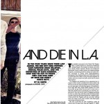 anthony Kiedis interview To Live and Die in LA