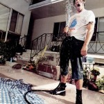 wet anthony Kiedis hosepipe interview To Live and Die in LA