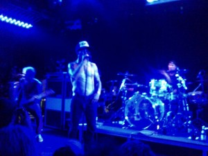 anthony kiedis singing LA