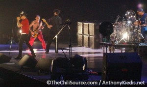Anthony Kiedis live on stage London 2011
