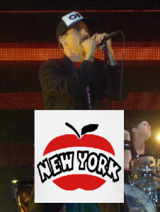 Anthony Kiedis Red Hot Chili Peppers early 2012