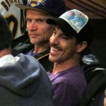 anthony Kiedis laughing