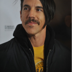 Kiedis at earvin Johnson LA Lakers movie premier