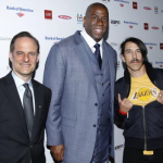 Anthony Kiedis at Magic Johnson LA Lakers movie premier