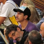 anthony kiedis baskeball game watching