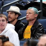 Flea and Anthony Kiedis baseball game