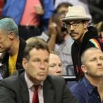 Flea and Anthony Kiedis baseball game