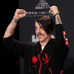 Kiedis Red Hot Chili Peppers cleveland Rock n roll induction