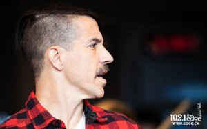 anthony Kiedis new hair style shave head