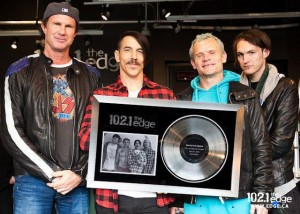 chad smith anthony Kiedis FLea Josh Kilinghoffer inducted