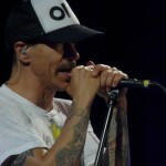 Anthony Kiedis RHCP Stade de France Paris June 2012
