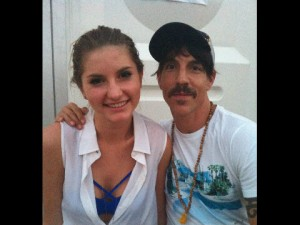 anthony kiedis with new woman