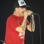 RHCP Sheffield UK November 17 2011 Anthony Kiedis live on stage