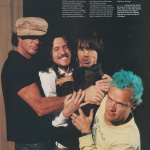 Red hot chili peppers best band of the year