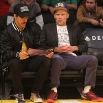 Anthony Kiedis RHCP Lakers Basketball game LA