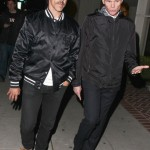 anthony kiedis going to restaurant in Los Angeles