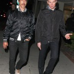anthony kiedis going to restaurant in LA