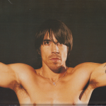 topless poster anthony kiedis m necklace