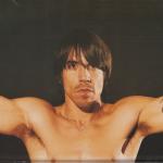 topless poster anthony kiedis m necklace