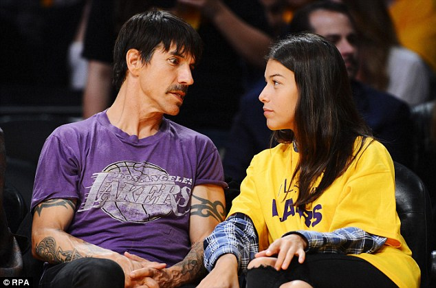 Who is anthony kiedis dating 2013