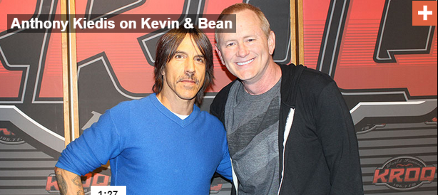 KROQ-Kevin-and-bean-anthony-kiedis-radio-show