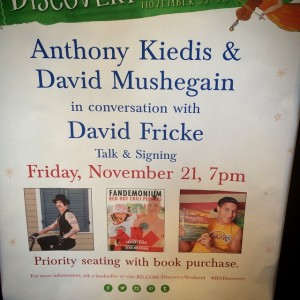 rana-Anthony-kiedis-Dave-mushegain-NYC-Fandemonium-book-signing-2