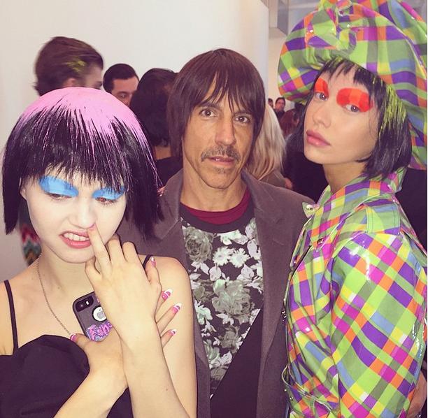 Anthony-kiedis-NYC-fashion-week-David-mushegain