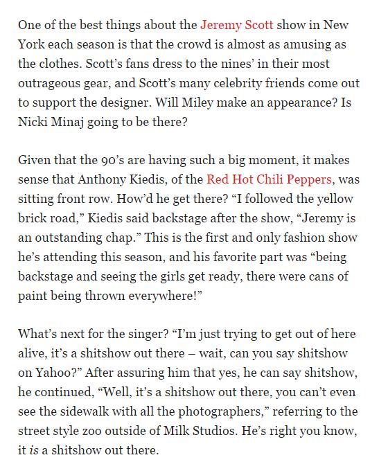 yahoo-anthony-kiedis-interview-jeremy-scott-show-NYC