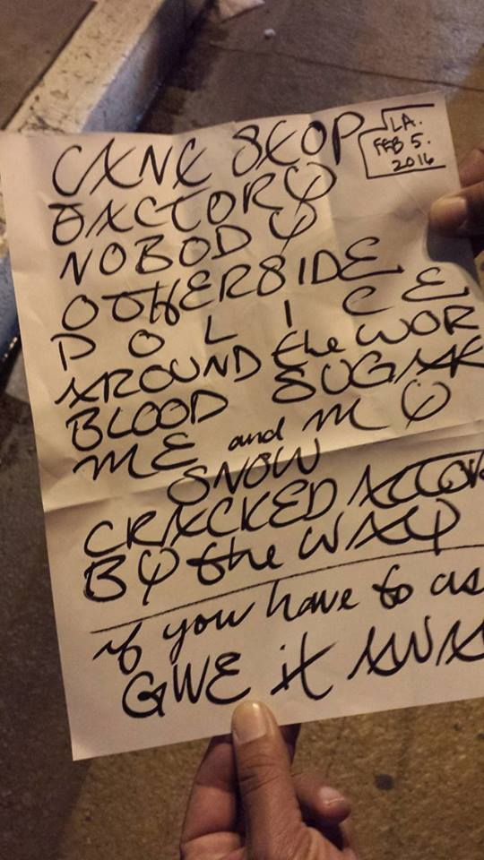 set-list-theatre-ace-hotel-rhcp-february-5-2016