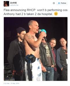 flea-weenie-roast-anthony-kiedis-hospital-rhcp-cancelled