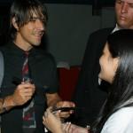 Anthony Kiedis signing autograph