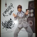 anthony Kiedis signed photo for fan